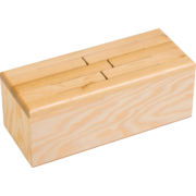 ZT 106 Log drum with top plate made of Robinia