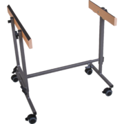 Mobile stand FSC for chromatic bar instruments, adjustable in height
