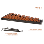 RXFL  tone bars made of Rosewood, f 1 - c 5