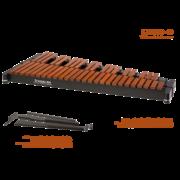 RXFL Xylophon, Klangplatten aus Rosewood, f1 - c5