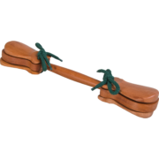 KS 2 Double castanet with handle