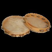 Orchestertamburin mit Formgriff