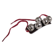 SBv Sleighbell wristlets with cord ties
