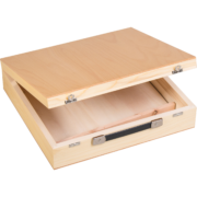 Wooden case for chromatic glockenspiels