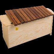 BX 1000 Bass Xylophone für Kinder, Kindergarten, Schule und Musikschule